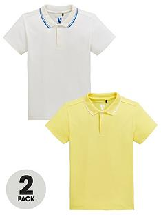 c6a6546ef481 V by Very Boys 2 Pack Tipping Collar Polo Shirts - Multi