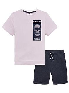 v-by-very-boys-short-sleeve-skull-sweat-top-amp-shorts-set-lilac