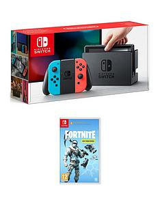 nintendo-switch-neon-console-with-fortnite-deep-freeze-bundle