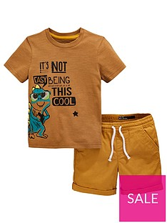 mini-v-by-very-boys-gecko-short-sleeve-t-shirt-and-shorts-set-tan