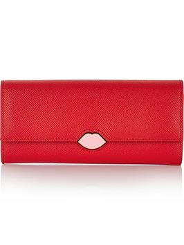 lulu-guinness-lips-cora-purse-red