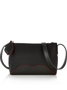 lulu-guinness-cupids-bow-marie-nylon-crossbody-bag-black