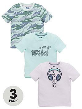 mini-v-by-very-boys-3-pack-loudwildcamo-t-shirts-multi