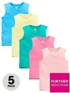 mini-v-by-very-boys-5-pack-bright-tank-tops-multi