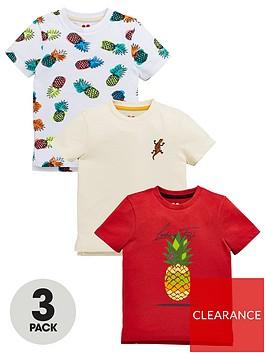 mini-v-by-very-boys-3-pack-pineapple-t-shirts-multi