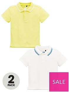 mini-v-by-very-boys-2-pack-tipped-collar-polo-shirts-yellowwhite