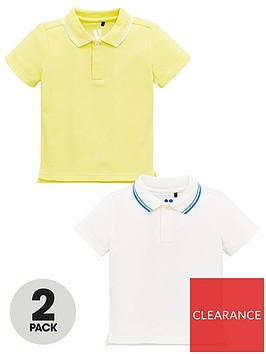 mini-v-by-very-boys-2-pack-tipped-collar-polo-shirts-yellowwhite