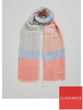 barbour-whitmorenbspstriped-colour-blocked-wrap-scarf-pinkblue