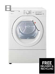 Hoover Link HLV10LG 10kg Vented Tumble Dryer with One Touch - White