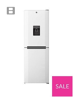 Hoover H1826MNB5WWK 60cmWide No Frost Fridge Freezer with Water Dispenser - White Best Price, Cheapest Prices