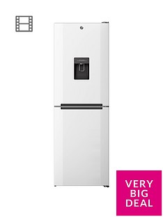 Hoover H1826MNB5WWK 60cm Wide No Frost Fridge Freezer with Water Dispenser - White