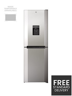 Hoover H1826MNB5XWK 60cmWide No Frost Fridge Freezer with Water Dispenser - Stainless Steel