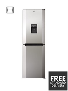 hoover-h1826mnb5xwk-60cmnbspwide-no-frost-fridge-freezer-with-water-dispenser-stainless-steel