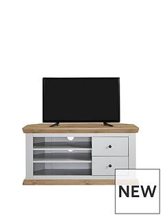 Burford Corner TV Unit - fits up to 52 inch TV