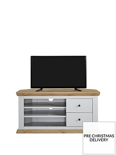 Burford Corner TV Unit - fits up to 52 inch TV