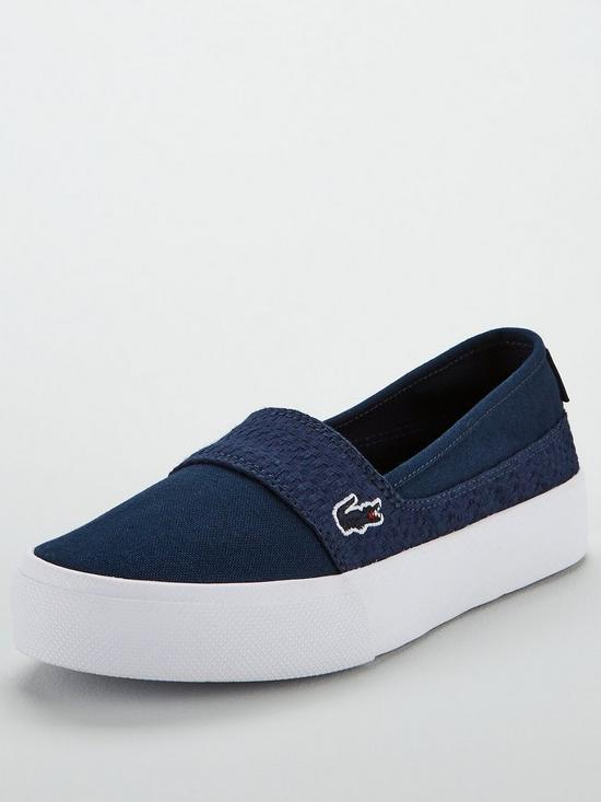 11238a247d3 Lacoste Marice Plus Grand 119 2 Cfa Espadrille - Navy White