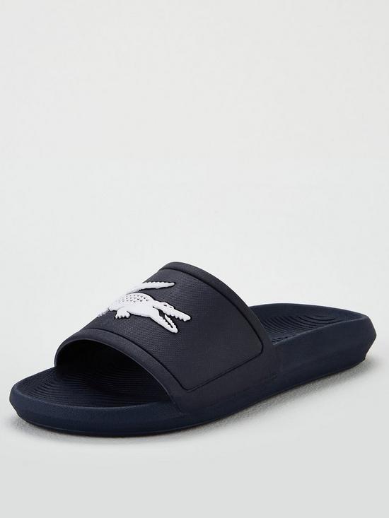 2a2e6f730 Lacoste Lacoste Croco Slide 119 3 Cfa Flat Sandal