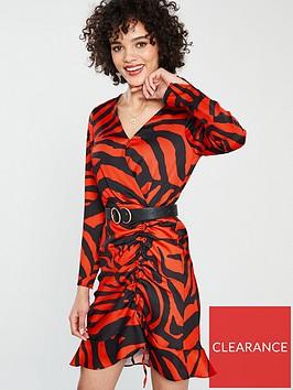 river-island-river-island-animal-print-tea-dress-red
