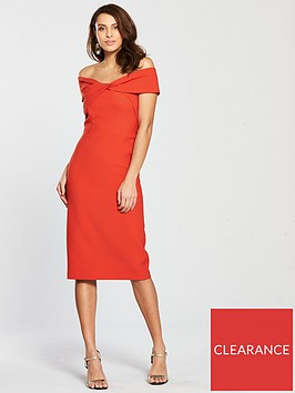 river-island-bardot-bodycon-dress-red