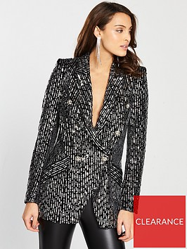 river-island-mix-sequin-blazer-black