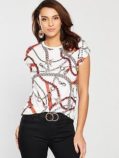 river-island-chain-print-t-shirt-white