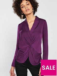 river-island-river-island-tori-twist-front-blouse--purple