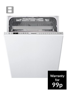 hotpoint-hsio3t223wce-10-place-slimlinenbspintegratednbspdishwasher-with-quick-wash-3d-zone-wash-and-optional-installation-silver