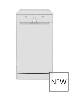 indesit-dsfe1b10-10-place-slimline-dishwasher-white