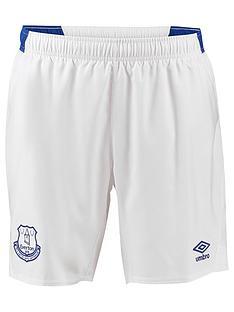 72199a011 Everton Umbro Everton Youth Home 2018 19 Short