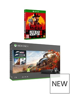 xbox-one-x-console-forza-horizon-4-forza-7-red-dead-redemption-2-bundle-with-optional-extras