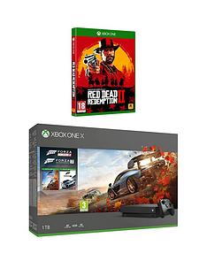 xbox-one-x-forza-horizon-4-and-forza-7-1tb-console-bundle-with-red-dead-redemption-2