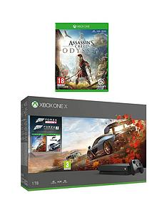 xbox-one-x-forza-horizon-4-and-forza-7-1tb-console-bundle-with-assassins-creed-odyssey