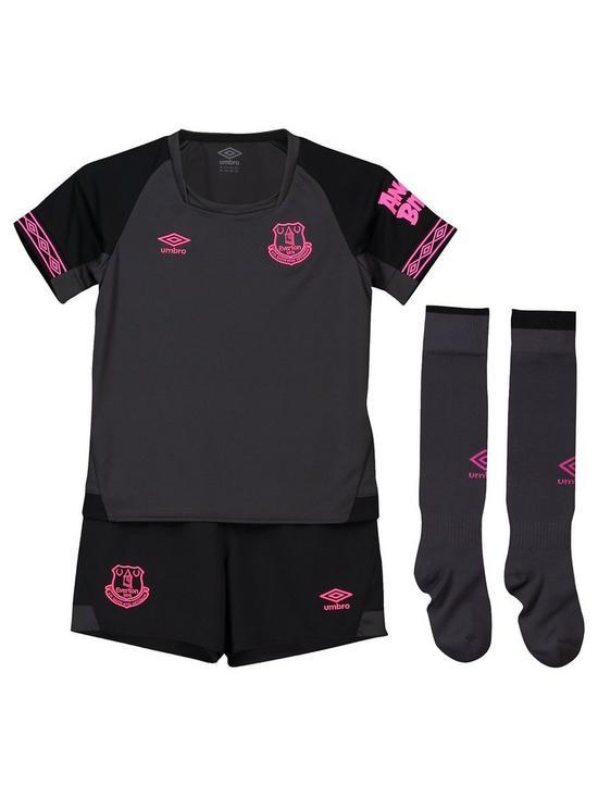 28cecaace Everton Umbro Everton Away 2018 19 Infant Kit