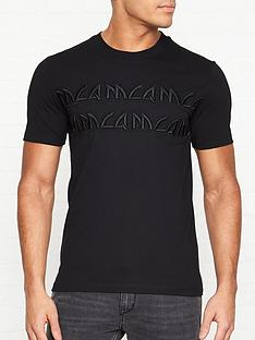 mcq-alexander-mcqueen-embroidered-tonal-logo-t-shirt-black