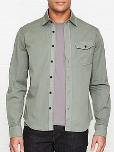belstaff-steadway-cotton-oxford-shirt-green