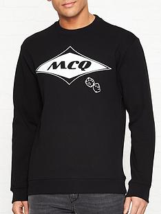 mcq-alexander-mcqueen-diamond-logo-sweatshirt-black