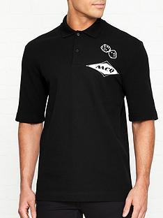 mcq-alexander-mcqueen-diamond-logo-polo-shirt-black