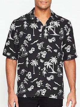 mcq-alexander-mcqueen-all-over-print-cuban-collar-shirt-black