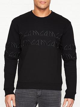 mcq-alexander-mcqueen-embroidered-tonal-logo-sweatshirt-black