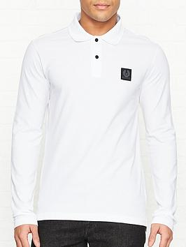 belstaff-selbourne-long-sleeve-pique-polo-shirt-white