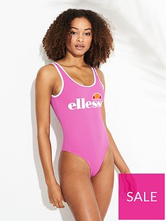 ellesse-lilly-swimsuit-pink