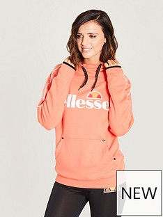 ellesse-sassari-oh-hoodie-orange