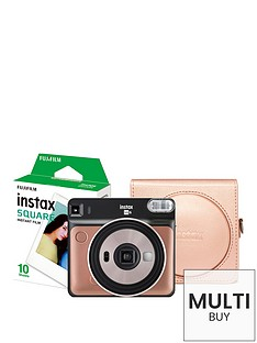 fujifilm-instax-instax-sq6nbspinstant-camera-with-10-shotsnbspand-a-blush-gold-case