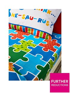 catherine-lansfield-dino-saw-single-fitted-sheet