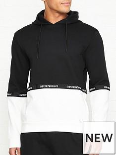 emporio-armani-logonbsptape-print-overhead-hoodie-black