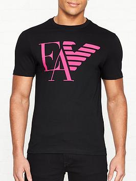 emporio-armani-ea-half-eagle-printed-logo-t-shirt-black
