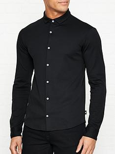 emporio-armani-slim-fit-jersey-shirt-black