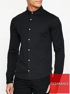 emporio-armani-slim-fit-jersey-shirt-black