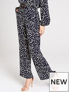 girls-on-film-wide-leg-trouser-with-tortoiseshell-belt-navy-cream