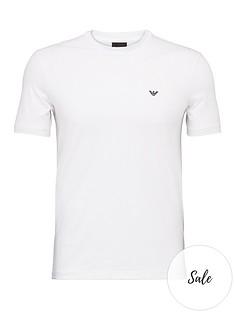 emporio-armani-2-pack-chest-logo-t-shirts-white
